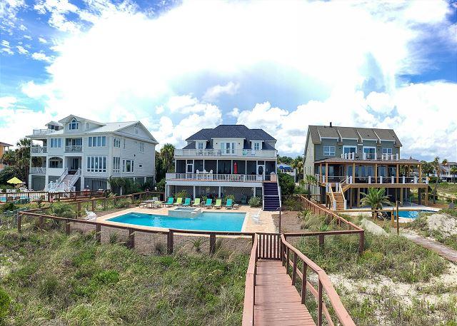 Ocean Facing View of House