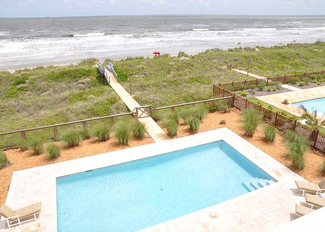 Pool and Private Boardwalk
