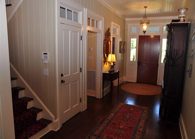 Foyer Facing Front Door