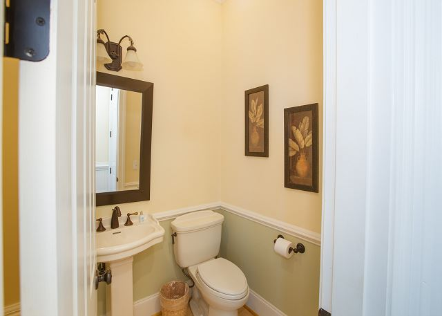 First Floor Powder Room, off of Livingroom