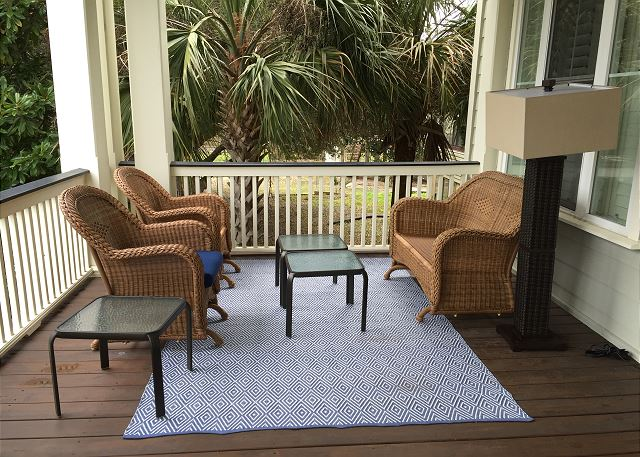 1st fl Covered Porch