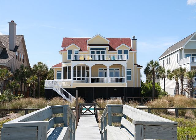 Rear Exterior with Private Boardwalk