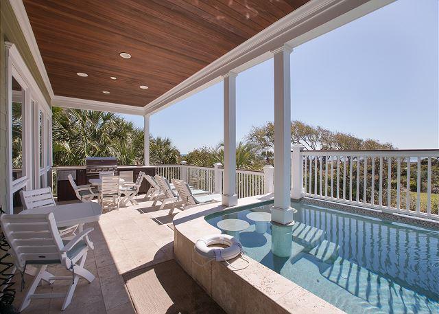 Pool Deck Ocean View