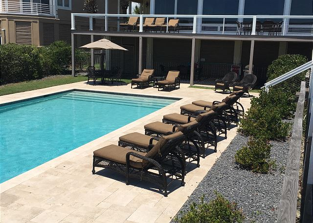 Oceanside Pool and Patio