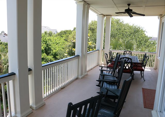 2nd fl Covered Porch