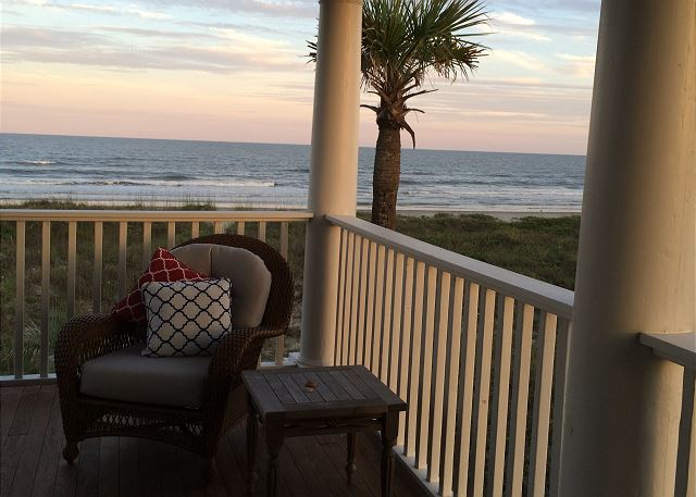 Ocean View from Porch