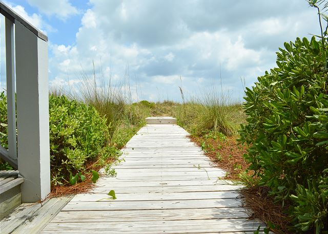 Private Beach Path