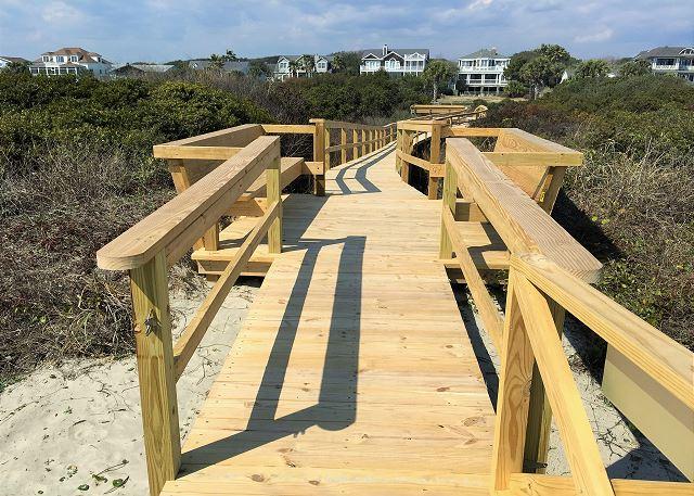 New Private Boardwalk