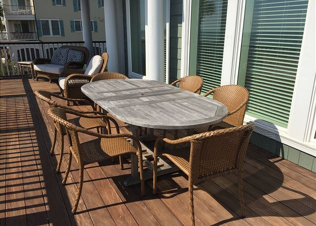 Sun Porch Dining Table
