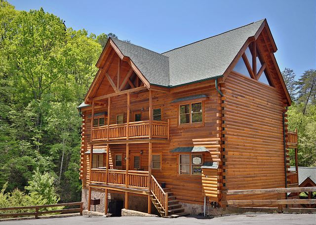 Exterior of the cabin.