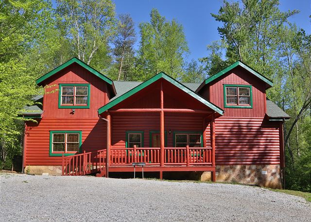 Exterior Shot Of The Cabin.