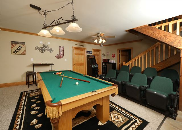 Haven Of Rest - Pool table seating