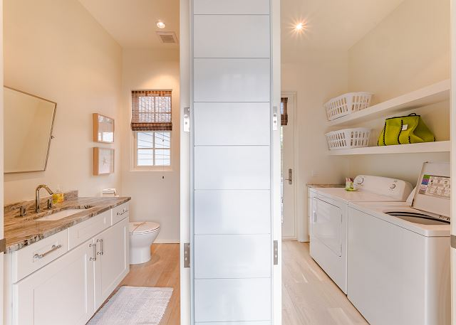 1st Floor 1/2 Bath & Laundry Room