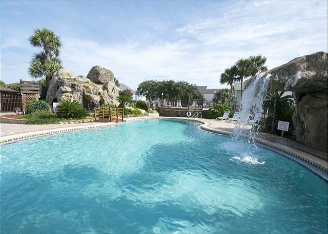 This is one of three pools at Portside Resort.