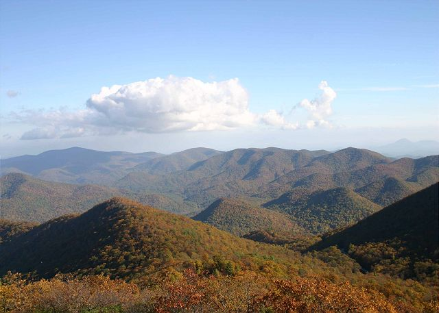 Chattahoochee National Forest Mountain Views