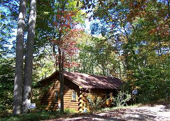 Cherry Log Cabin / Bungalow rental - Exterior Photo - Hummingbear Ledge at Cherry Log Mountain