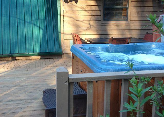 Bear View Cove Hot Tub