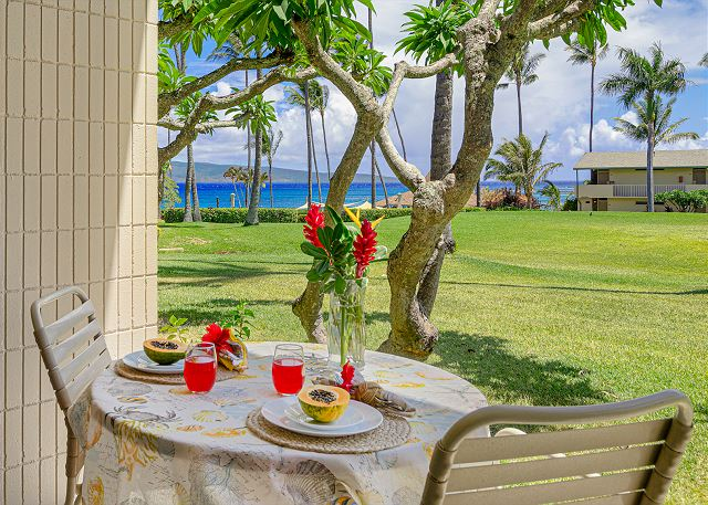 NEW Napili Shores G157  Oceanview frm $195, AC, King Bd, ground floor