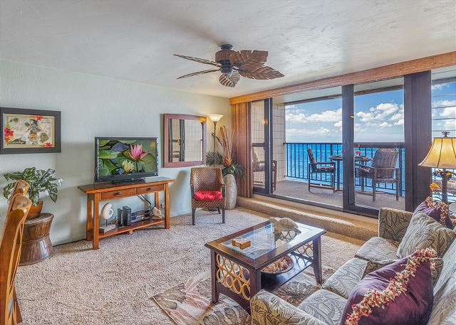 MAUI Direct Oceanfront 1 Bedroom Condo