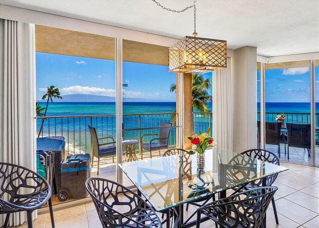 #511 Royal Kahana Oceanfront 2 Bedroom/2.5 bath Corner Condo