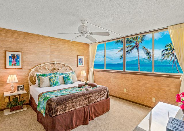 Direct Oceanfront Royal Kahana 1 Bedroom with Incredible View!