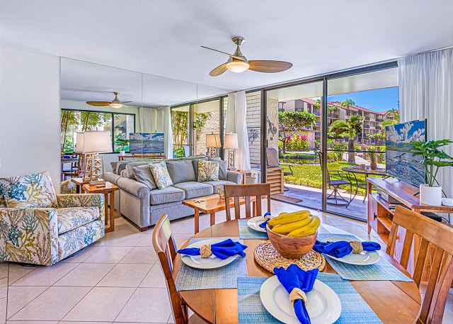 NEW PK H107 remodeled, ground floor corner unit, steps to the ocean $229/up