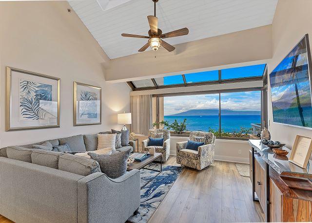 Sands of Kahana Oceanfront 381- Spacious 3Bd/3Ba Unique Penthouse