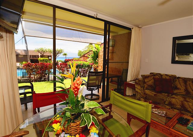 Walk right out to the ocean from this prime time ground floor un