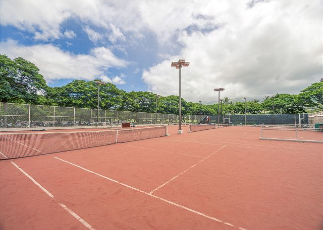 Tennis Courts are also Available as an amenity