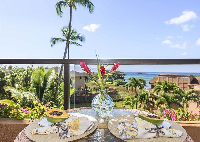 Steps to beach park! Kahana Villa - Oceanview 1 BDR VILLA