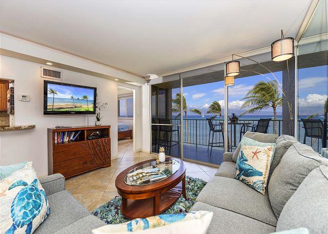 #409  Royal Kahana - Luxury OCEAN FRONT 1 Bedroom Condo