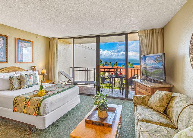 Kaanapali Shores 742 - Ocean view Studio in Oceanfront  Resort