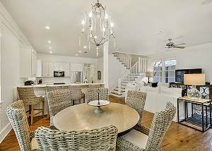 Open concept floor plan for ease and comfort