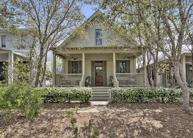 Buttercup Cottage is located on one of the most desirable streets in Watercolor
