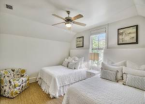 Guest Suite with dual queen beds.