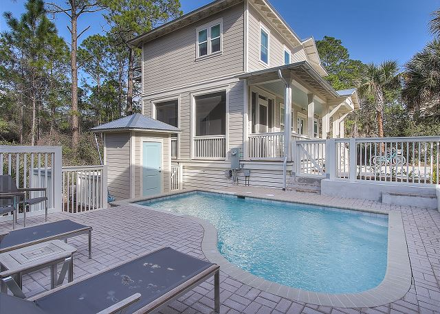 Brand new private pool and sundeck!