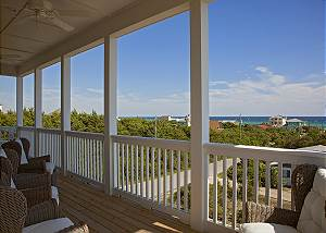 Gulf views from the 2nd and 3rd floor. Enjoy sunsets and sunrises from the comfy chairs.