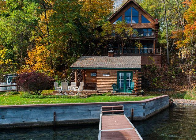 Lake vacation rentals lake house rental lakeside rentals for Seneca lake ny cabins