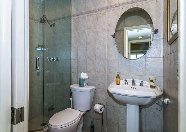 Full Bath with Walk-in Shower!