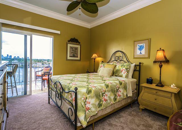 Queen Bedroom with Balcony!