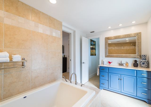 Master Bathroom With Outdoor Hot Tub Access!