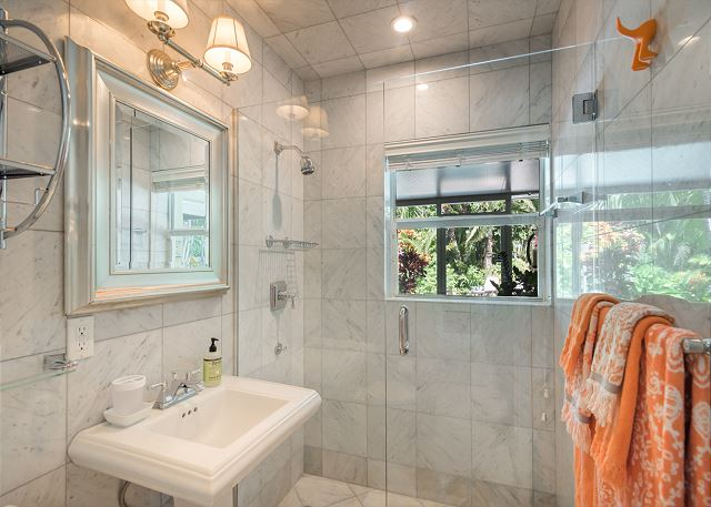 Full Guest Bathroom with Walk-in Shower!