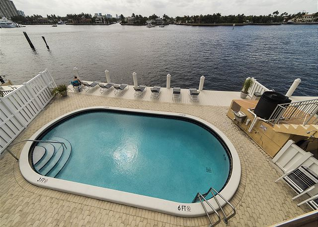 Heated Pool with Intracoastal Views!
