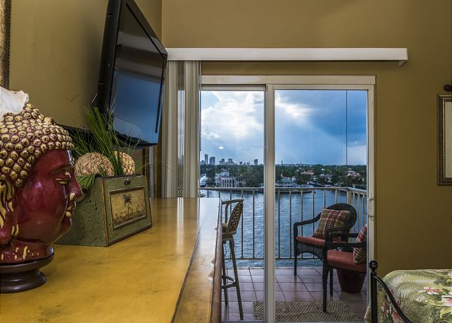 Intracoastal View from Bedroom!