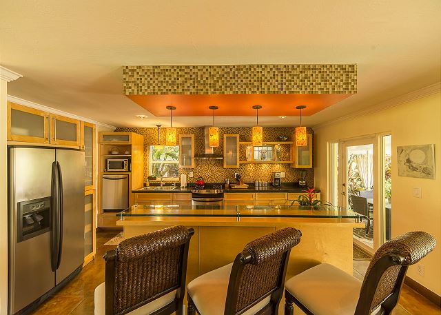 A cooks Kitchen Ready for Entertaining!