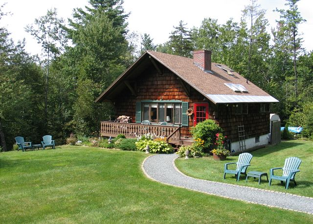 The Holiday Chalet is aptly named, and perhaps even better located, as it lies so close to Franconia Notch.