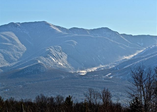 ...And oh yeah, That's Cannon Mountain's snow-making you see on the right side.  Yes- Direct view of the Mtn. too!