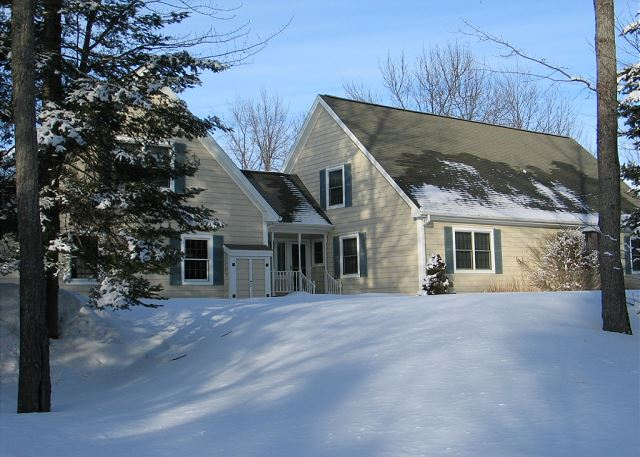 This beautiful vacation rental home is professionally managed by Franconia Notch Vacations Rental and Realty.  Perfect for the skier in you and for the whole family.