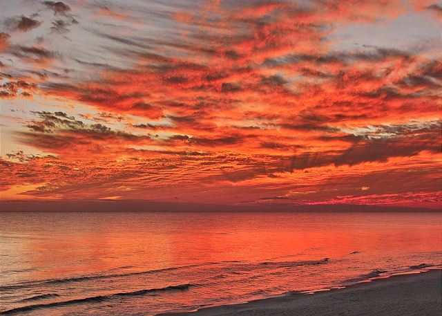 Adagio Beach at Sunset