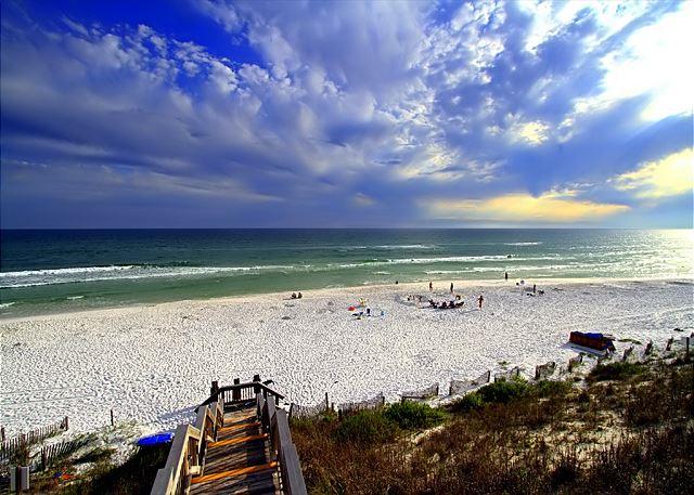 Walkway down to Beach